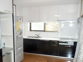キッチンリフォーム スペースを有効活用するためにキッチンを一新