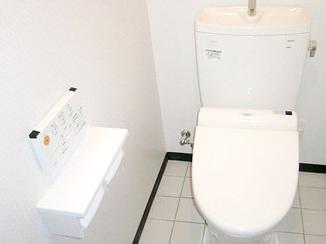 トイレリフォーム 空間を広げたトイレ